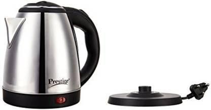 Prestige PKOSS 1.8 Electric Kettle  (1.8 L, Silver, Black)