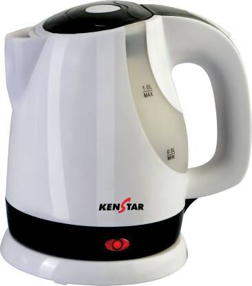 Kenstar KKB10C3P-DBH Electric Kettle  (1 L, White)