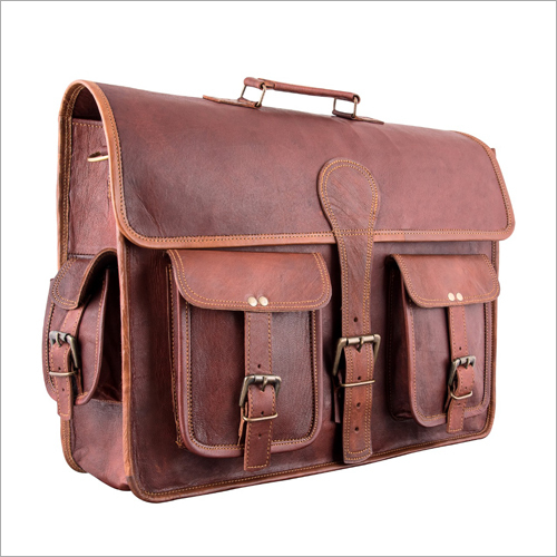 Leather Vintage Office Bag