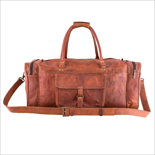 Designer Leather Luggage Bag