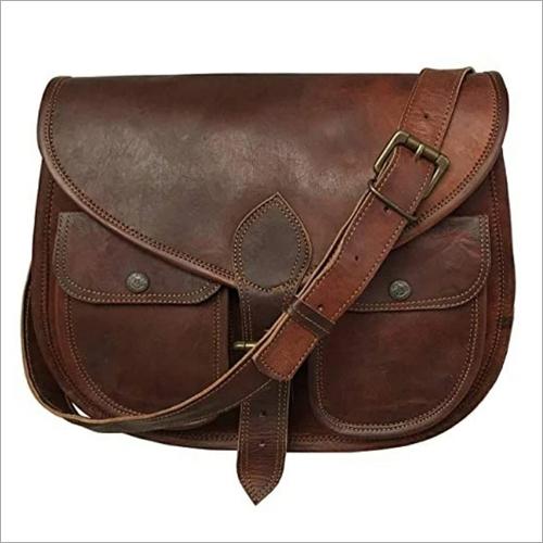 Designer Leather Side Bag
