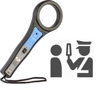 Hand Held Metal Detector For Ghutka Detecting