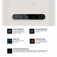 A.O.Smith Z2+ Under The Counter RO+MIN-TECH Black 5 Litre Water Purifier