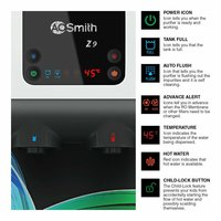 AO Smith Z9 Green RO 10 Litre Wall Mountable , Table Top RO+SCMT Black 10Litre Water Purifier