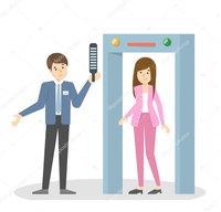Door Frame Metal Detector For Security Purpose