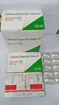 Cefixime Dispersible Tabletes IP