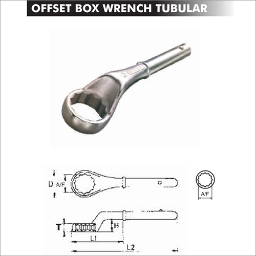 Offset Box Wrench Tubular