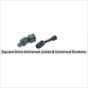 Square Drive Universal Joints & Universal Sockets