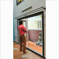 Retractable Roller Double Door System