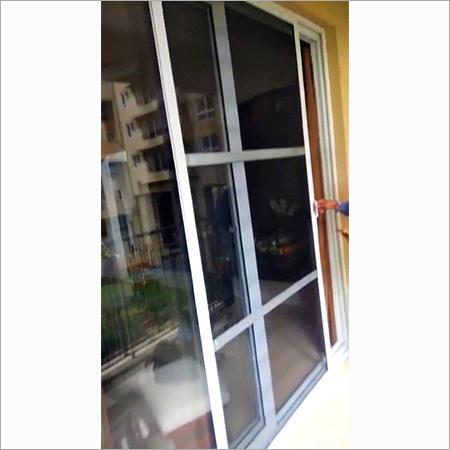 Retractable Double Door