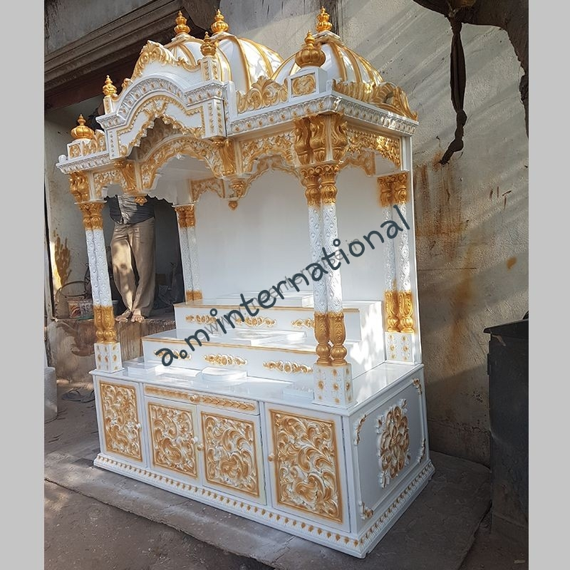 wooden cabinet temple