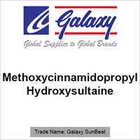 Methoxycinnamidopropyl Hydroxysultaine
