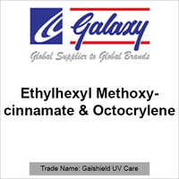 Ethylhexyl Methoxycinnamate And Octocrylene