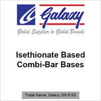 Isethionate Based Combi-Bar Bases