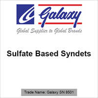 Sulfate Based Syndets