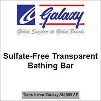 Sulfate-Free Transparent Bathing Bar