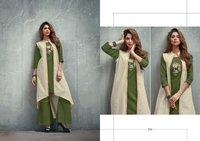 Banarasi Cotton Kurti 3 Pics