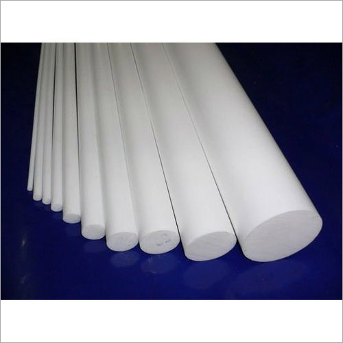 White PTFE Rod