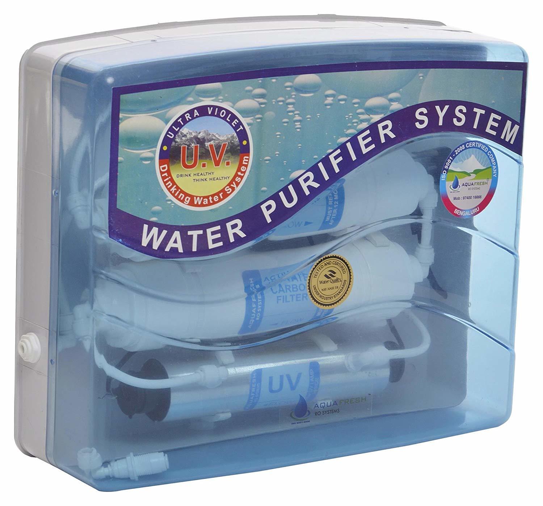 Aquafresh Ultra 60 LPH Water Purifier (15 cm x 40 cm x 35 cm, White and Blue)