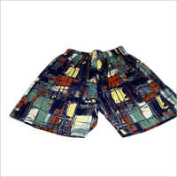 Mens Cotton Printed Shorts
