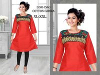 Designer ladies cotton kurtis