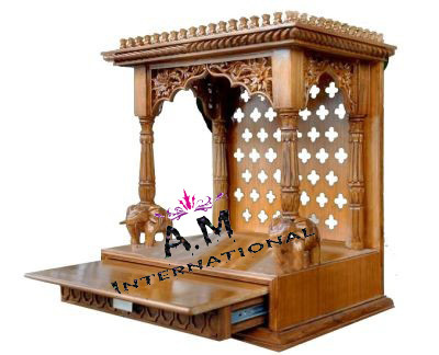 mini wooden temple