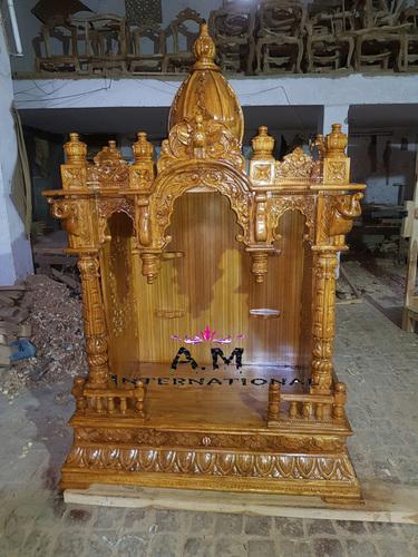 teak wood temple