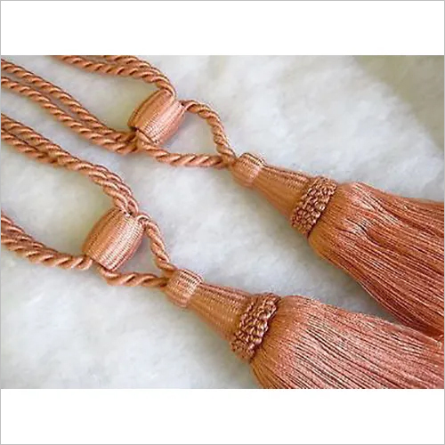 Curtain Rope Tassel Tieback