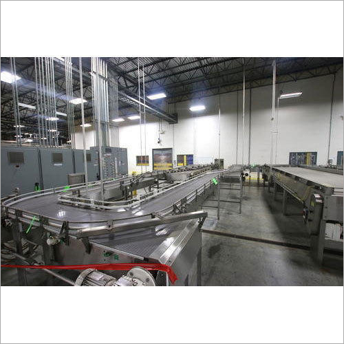 Industrial Bottle Conveyor