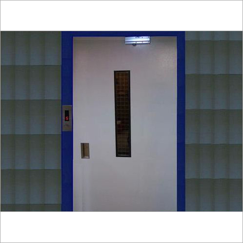 M S Powder Coated Swing Door