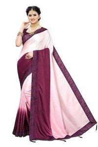 SANA saree with diamond cut