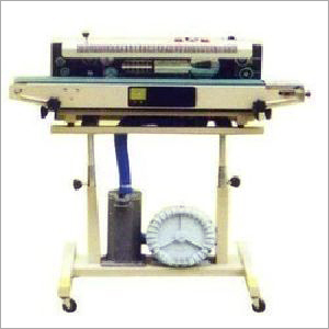 Electric Band Sealer Gas Filling Machine