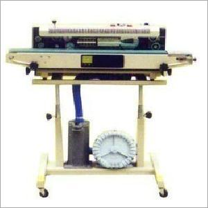 Electric Band Sealer Gas Filling Machine
