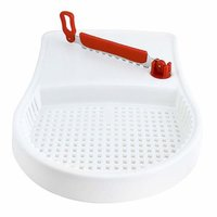 Plastic Vegetable Chopper, Multicolour J-153