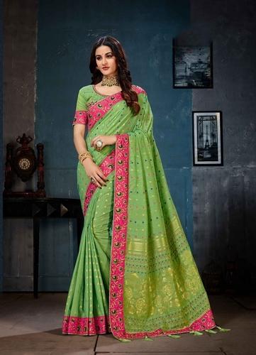 Linen Cotton Saree ( PR catalog - 7395 )