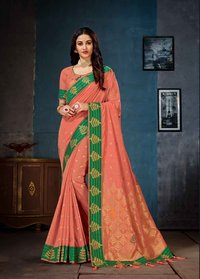 Linen Cotton Saree ( PR catalog - 7395 )