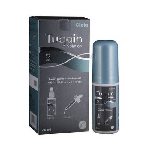 Cipla Tugain 5% Solution USP (60)