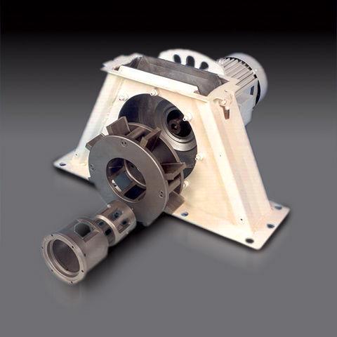 Blast wheel assembly direct drive