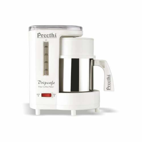 Preethi Dripcafe Coffee Maker (White)