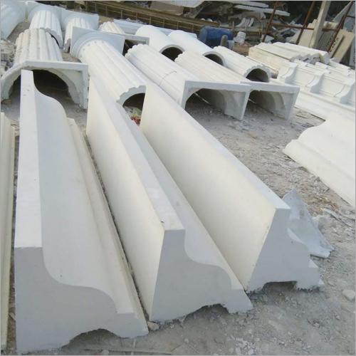 GRC White Cement Cornice