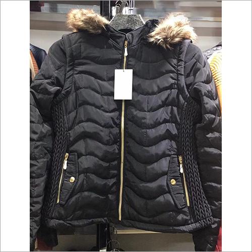 Ladies Padded Fur Jacket