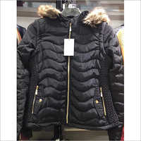 Ladies Padded Fur Jacket
