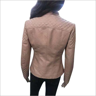 Ladies Leather Casual Jacket