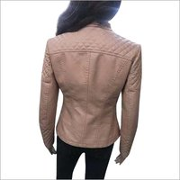 Ladies Leather Casual Jacket