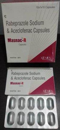 Rabeprazole Sodium & Aceclofenac Capsules