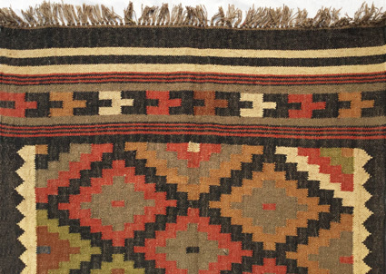 Rectangle Kilim Floor Carpet