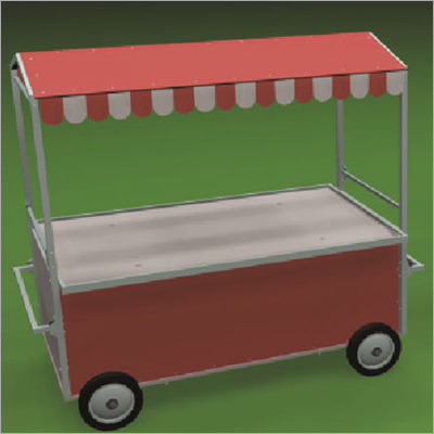 Outdoor Fast Food Cart