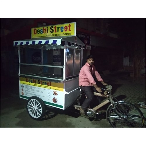Portable Fast Food Cart