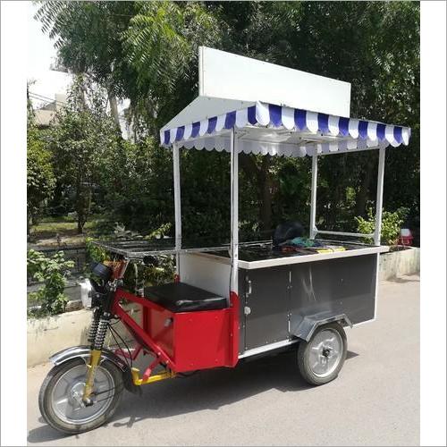 Outdoor E-Rickshaw Food Cart