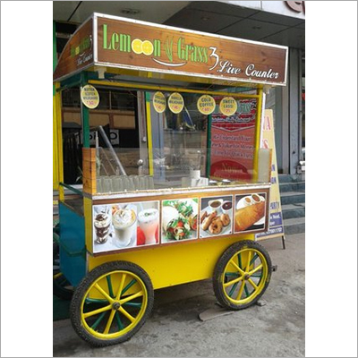 Fruit Vending Cart